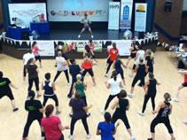 longest aerobics class world record set by Freedom Leisure Zumbathon