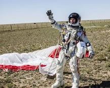 Felix Baumgartner world record holder