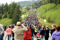 largest rain boot race world record set in Ketchikan