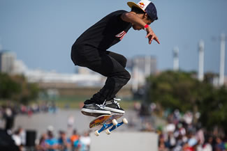 Jean-marc Johannes, a South African skateboarder, broke the Guinness World record for most Nollie Heelflips in one minute earlier this week. Faced with the prospect of having to beat the record of eight, the Capetonian effortlessly eclipsed that with an incredible 14 in 60 seconds.