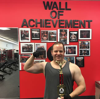 Michael Danforth (52), set a new record on December 3rd by lifting over 1,000,000 lbs. in a single workout of 18.5 hours at Power Strength gym.