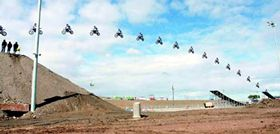 Longest Motorcycle Jump World Record Set By Robbie Maddison