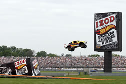 longest ramp jump in a four wheeled vehicle Tanner Foust