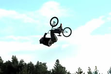 first BMX triple backflip Jed Mildon