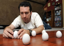 Brian Spotts Eggs world record holder