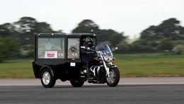 worlds fastest motorcycle hearse