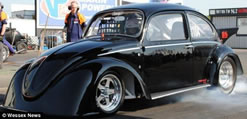 fastest electric-powered drag racer doing 0-60mph