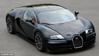 most expensive car Bugatti Veyron Super Sport