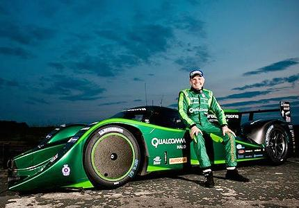 fastest electric car drayson racing breaks guinness world