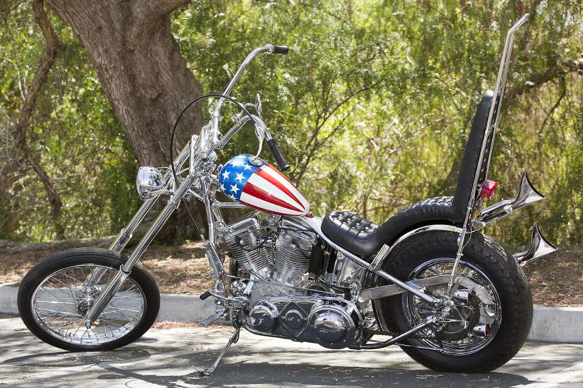 Most Expensive Motorcycle Ever Sold Easy Rider Chopper Breaks - Expensive motorcycle ever sold