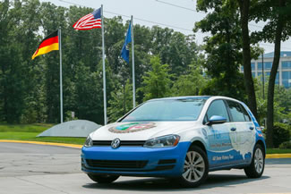 A 2015 Volkswagen Golf TDI just set a new record for