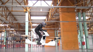 Russian startup Hoversurf has unveiled the first commercial hoverbike.
