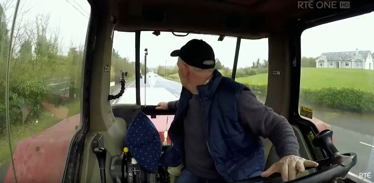 Longest journey reversing a tractor and trailer: Patrick Shalvey breaks Guinness world record