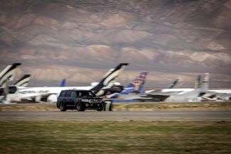 A Toyota Land Cruiser has become the fastest SUV in the world after clocking 230mph on a 2.5-mile runway at the Mojave Air and Space Port in California. Piloted by former NASCAR driver Carl Edwards, the heavily modified Land Cruiser added 19mph to the previous benchmark set by the Brabus Bi-Turbo V12 GLK, which has a top speed of 211mph.
