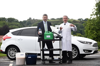 Celtic Renewables, which uses by-products of the Scotch whisky industry to produce a replacement for petrol and diesel, has powered a car with the biofuel for the first time.