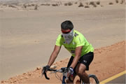 fastest crossing of the Sahara Desert: Reza Pakravan