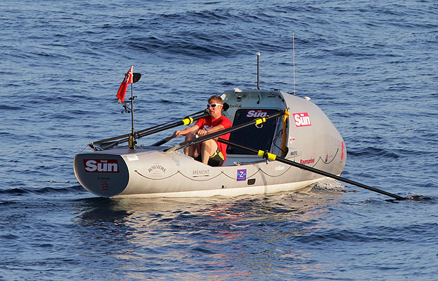 Fastest solo crossing of the Atlantic in a rowing boat ...