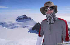 George Atkinson: youngest climber to conquer the Seven Summits