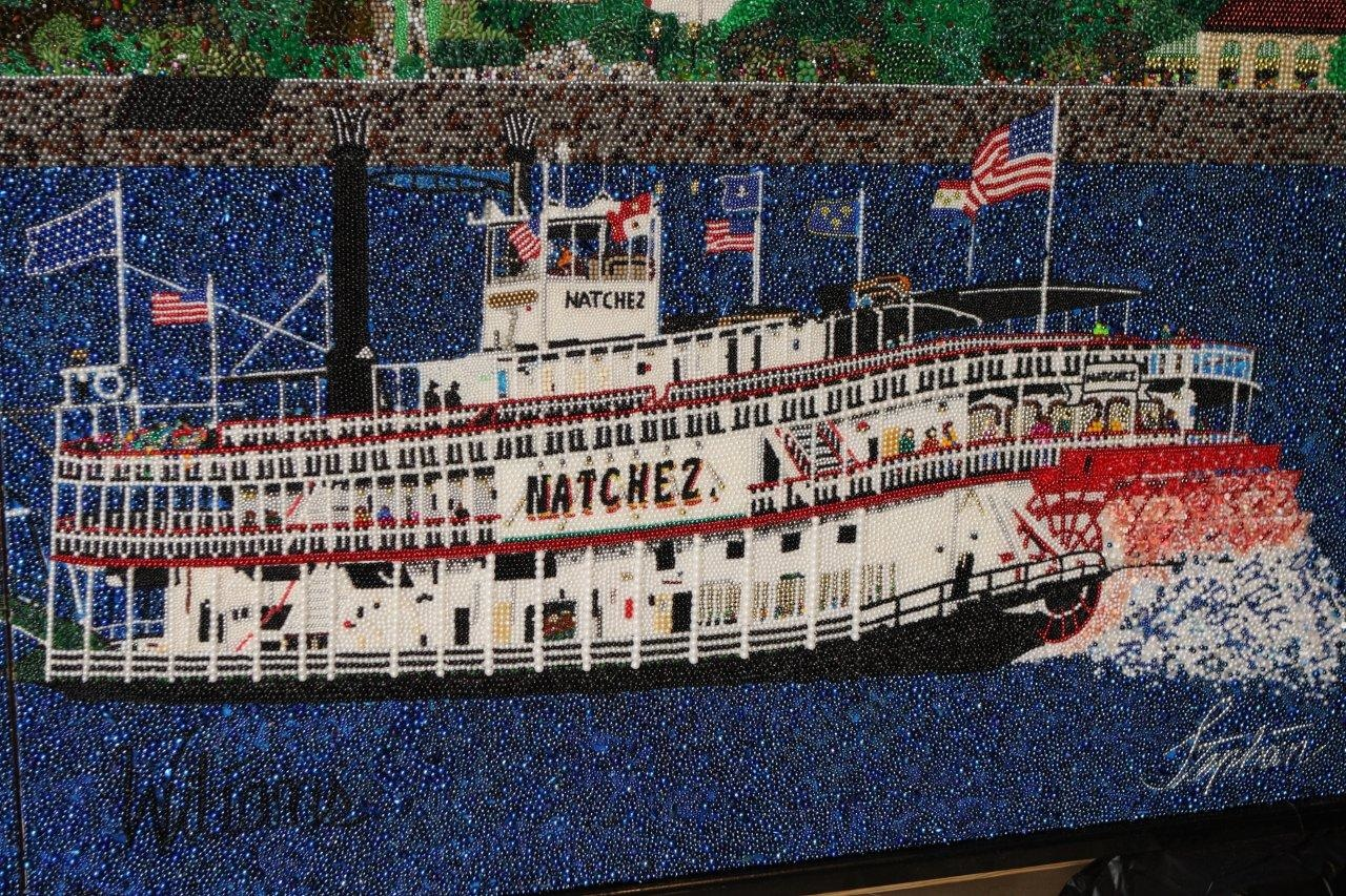 Largest Bead Mosaic: Stephan Wanger sets world record (Video)