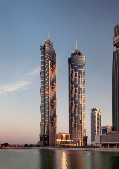 Highest hotel jw marriott marquis hotel dubai breaks for Tallest hotel in the world