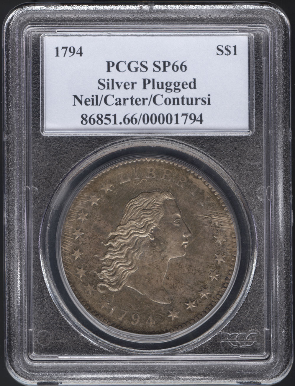 Most Expensive Coin 1794 Liberty Dollar Sets World Record