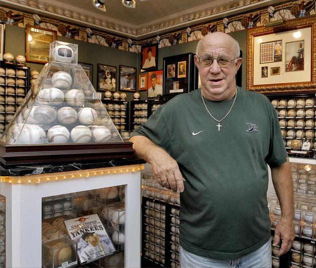 Largest Collection Of Autographed Baseballs Dennis Schrader Sets
