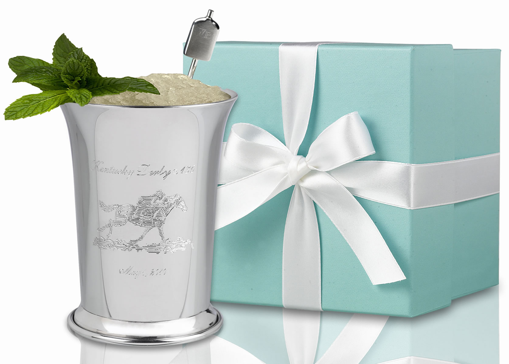 Most exclusive mint julep cup world record set by woodford reserve photo woodford reserve enlarge photo reviewsmspy