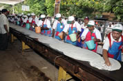 worlds longest dosa in Vijayawada