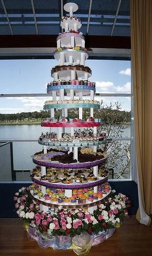 Christmas Cake Stand