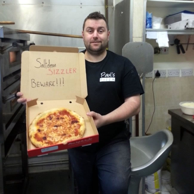 Hottest Pizza Saltdean Pizza Breaks World Record Despite Guinness