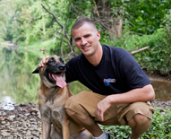 Celebrity dog trainer, Nicholas White, who is the owner of globally recognized dog training business, Off Leash K9 Training, set a record for the longest documented extended down with voice command only. This record was set after only 5 days of working with Belgian Malinois Molly and her owner Paul Burns- setting the new world record for the Longest Down From A Distance with Voice Command.