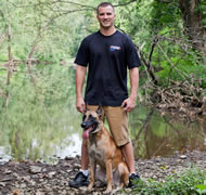 During his private 5-day training program in Baton Rouge, LA with Belgian Malinois Molly and her owner Paul Burns, Celebrity dog trainer Nicholas White White spent over 40 hours working with Molly and Burns - setting a new world record for 14 commands outside and off leash in just 5 days.
