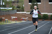 fastest 100 x 5 km relay, CHarlotte Running Club