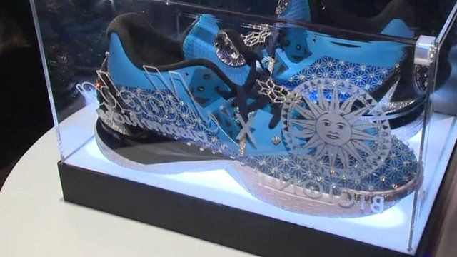 The Guinness World Records world record for the Most expensive pair of trainers (sneakers) was set by Ken Courtney (USA), founder of fashion label Ju$t ...