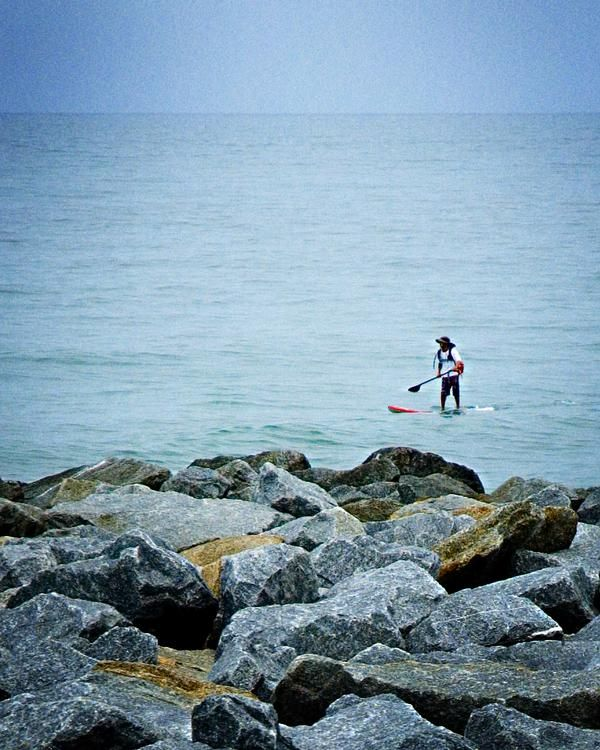 Longest Stand Up Paddle Board Journey World Record Set By