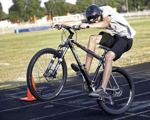 Fastest Bicycle Wheelie World Record Set By Jake Drummond