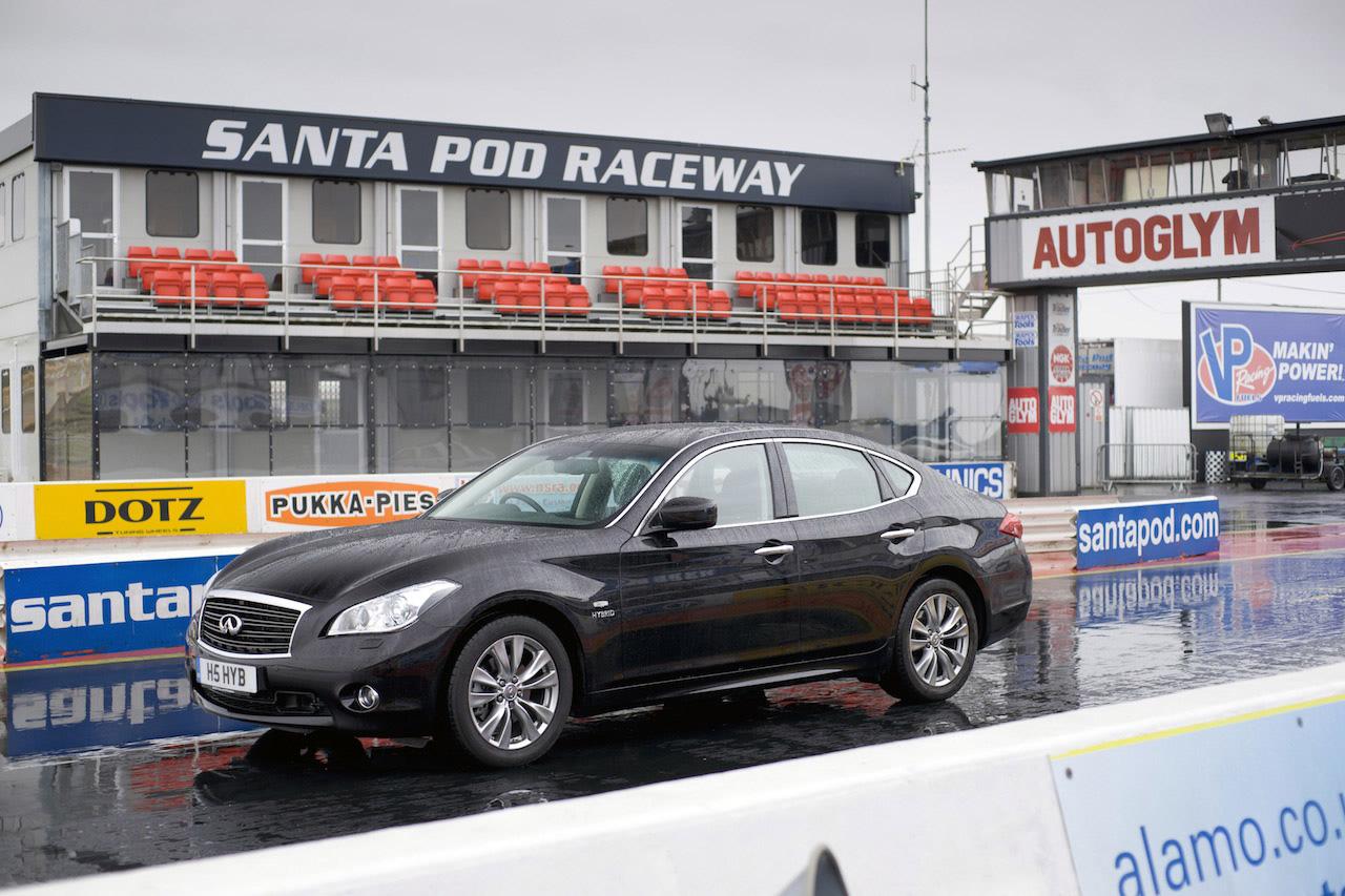 Fastest hybrid car: Infiniti M35h sets world record (Video)