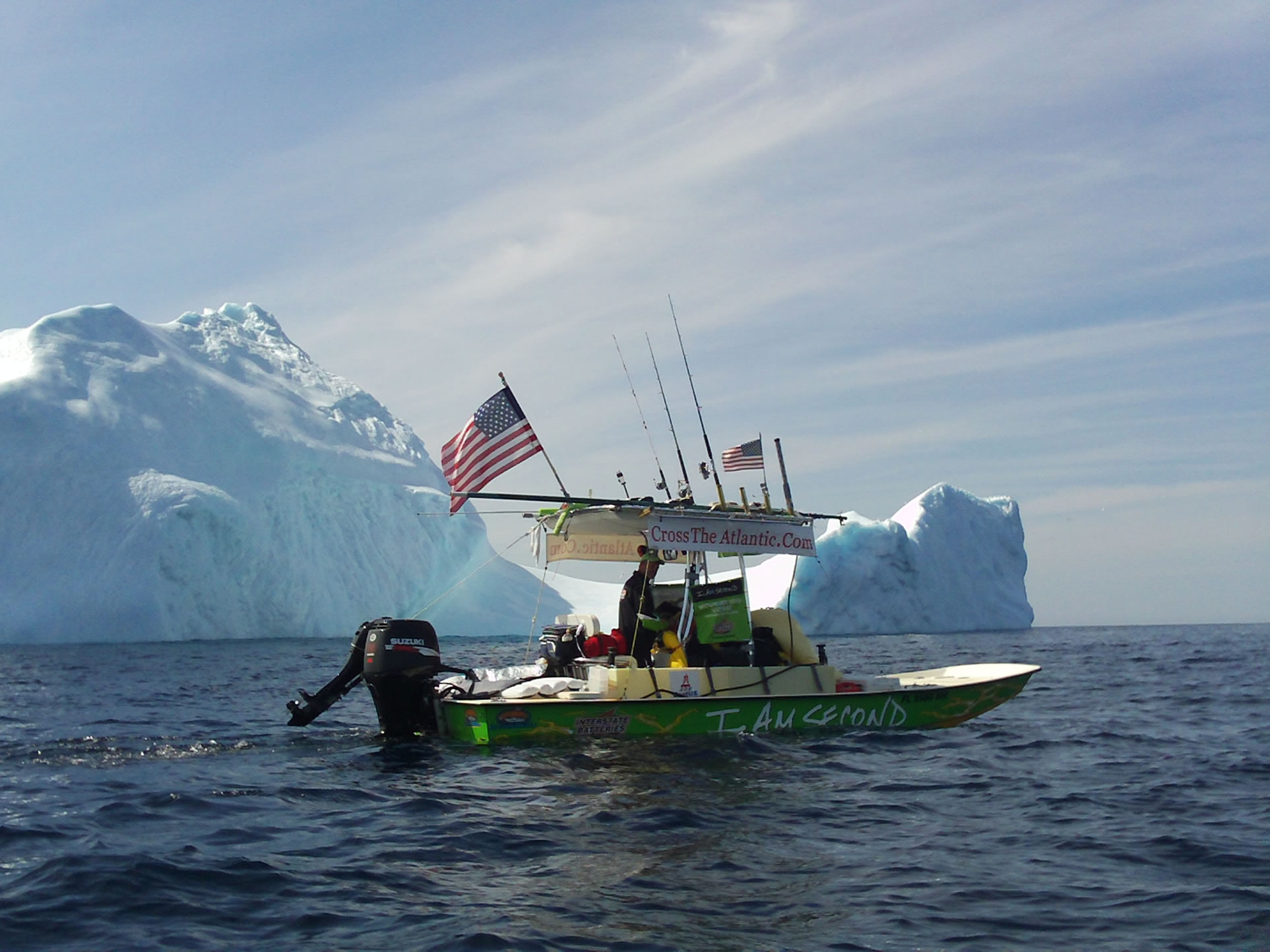 Smallest Power Boat To Cross The Atlantic Florida Brothers Set - Smallest ocean in the world