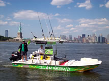 smallest power boat to cross the Atlantic
